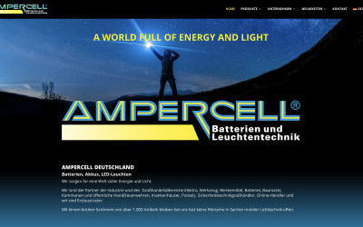 AMPERCELL Germany goes online with new website